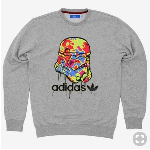 f78a7cdb5da adidas Other - Adidas X Star Wars Stormtrooper Sweatshirt
